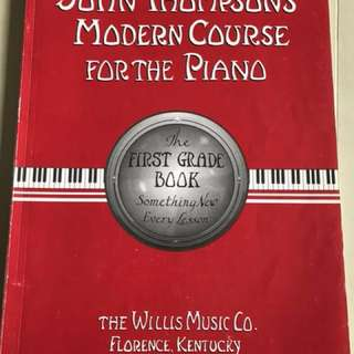 Music Book- John Thompson's Modern Course for the Piano