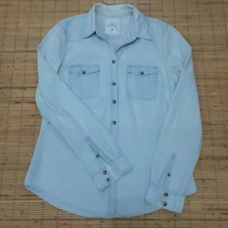 H&M L.O.G.G  shirt denim