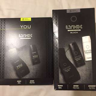 Lynx gift set collection