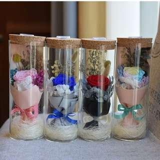 Pre-order Valentine's Day Preserved Flower terrarium