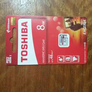 TOSHIBA MicroSDHC UHS-I Card