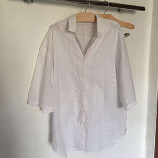 CLASSIC EMBROIDERY SHIRT