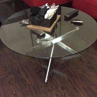 Structube Coffee Table (Glass)