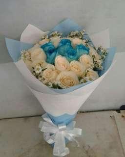 Bunga Hadiah Wisuda / Buket Bunga / Bunga Hadiah Ulang Tahun