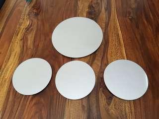 Four Circle Mirrors