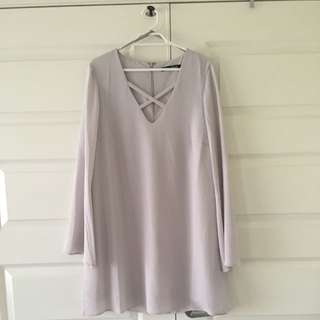 Size 10 | Grey Dress