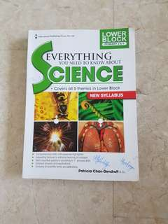 Pre-loved Lower Block Science Book Everything You Need To Know About Science