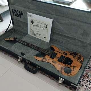 ESP LTD Limited Edition Kirk Hammett Ouija Guitar