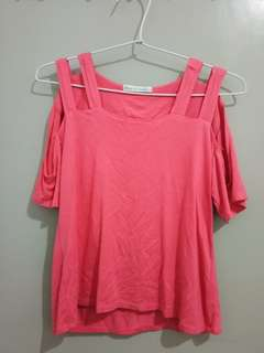 Magenta Fashion Top