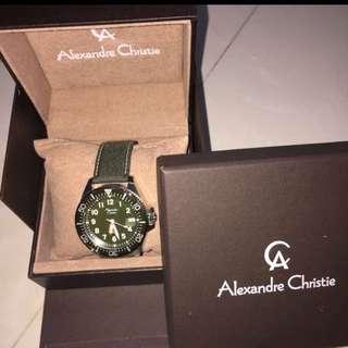 Alexdandre Christie watch