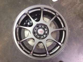 Kosei K4R 17inch 5x114.3 Wheels