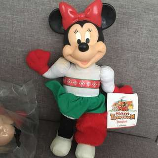 Minnie Mouse Collectible 1994 Mickey's Toontown