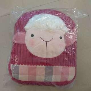 羊羊 綿羊毛毛公仔 動物暖手抱枕 攬枕 咕𠱸