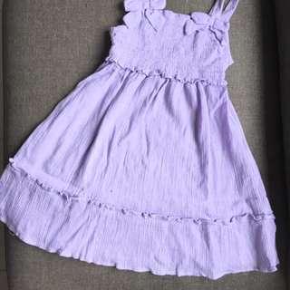 Crepe Girl's Dress