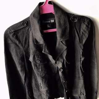 Black F21 Jacket