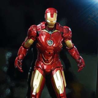 Hottoy Ironman Mark IV, Spider-Man 3 Dark-sit and Captain America first avenger