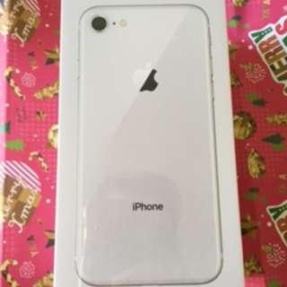 未開封的I PHONE 8 (細機) 64G 銀色 豐澤有單