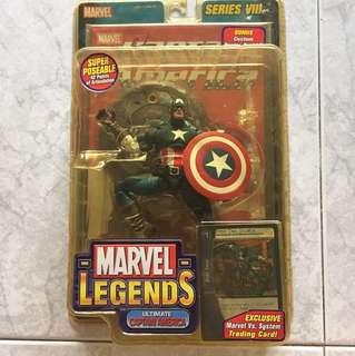Marvel Legends Ultimate Captain America (Comic Colours Variant)
