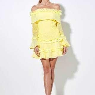 Mossman Yellow Mood Swing Dress