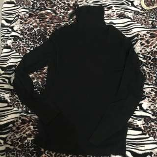 LOGG by H&M Black Turtle Neck