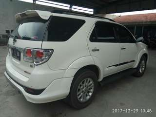 Fortuner type G TRD sportivo 2012