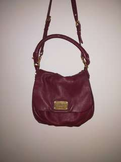Marc Jacobs Ukita Bag Maroon