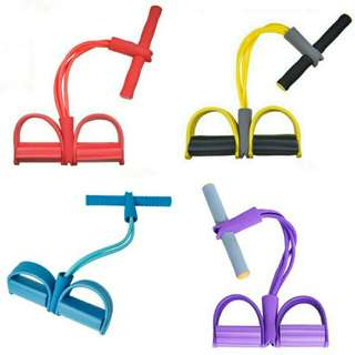 Candy Color Situp Resistance Band