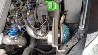 HKS cold air intake fits Mazda Cx7