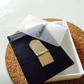 Calvin Klein CARD HOLDER + MONEY CLIP