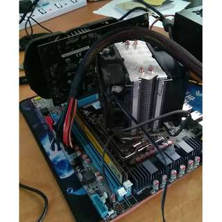 I7 3960x 6 cores 12 threads 3.3Ghz high end CPU+ Huanan Gold LGA2011 X79 motherboard mtax brand new