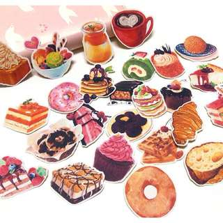 Desserts stickers🍨 (set of 25)