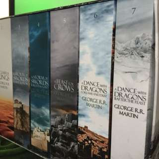 Game of Thrones 1-7 (very Good condition)