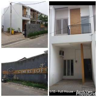 For Rental: Cinere Loft Townhouse in fully furnish, Cinere - Depok