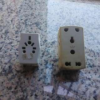萬能插蘇    萬能蘇    multi plug   ($12 each)