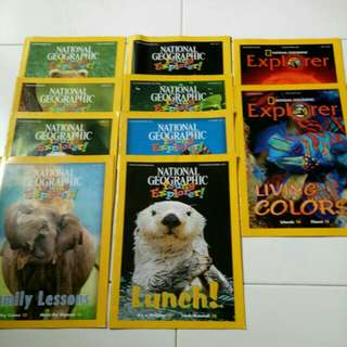 National Geographic Young Explorer and Explorer series