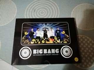 BIGBANG Bigshow 2009 DVD