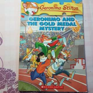 #33 Geronimo Stilton (Geronimo and the Gold Medal Mystery)