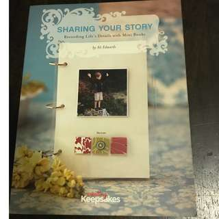 Sharing Your Story Scrapbooking reference book by Ali Edwards