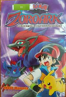 [SELL] Pokemon book  Zoroark only $5