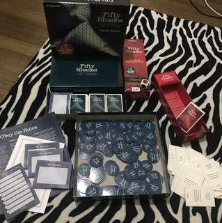 Fifty Shades of Grey Board games