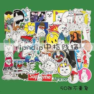 Rip N Dip Stickers Series (50pcs)