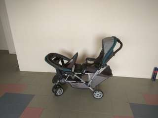 Foldable Double Stroller