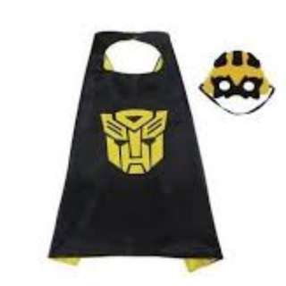 Transformer Cape (Superheroes Theme) for adult