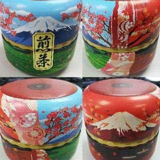 [全新連盒 送禮自用佳品] 富士山 日本茶罐 (連日本煎茶)