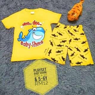 Playset BAby Shark Yellow