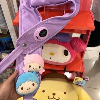 全新 萬寧獨賣 OTO Sanrio系列 little twin stars 揼揼鬆按摩器power tap  hkD599