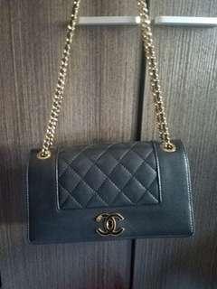 Chanel bag 20cm 100%real