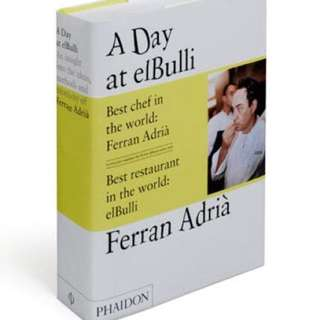 A day at ElBulli by Ferran Adria cookbook