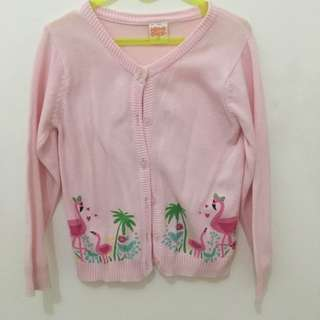 Cardigan Toddler ( 3y ) Pink Flamingos