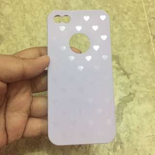 Purple Love Case Iphone 5/5S